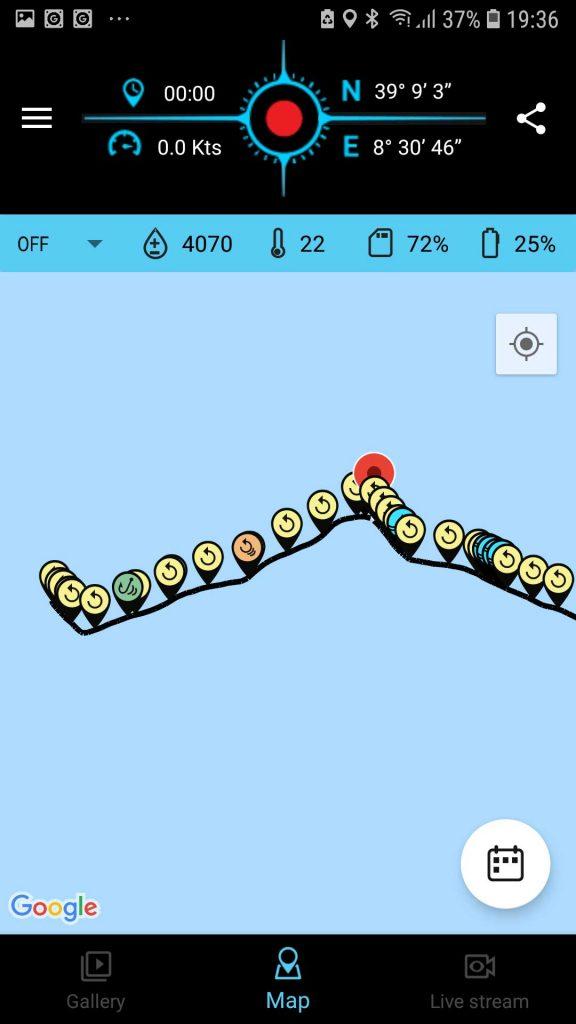 Spydro-App-Route